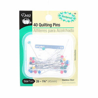 "Dritz Quilting Pins size 28 - 1 3/4"" 40ct"