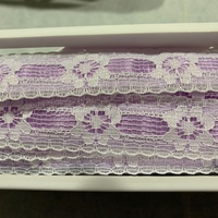 Lace Trimming - Light Lavender
