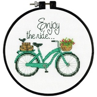 Enjoy The Ride Counted Cross Stitch Kit