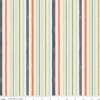 Woodland Spring Navy Stripe