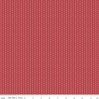 Beaujolais Stitch Red