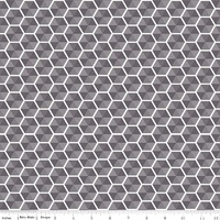 Desert Bloom Hexies Gray