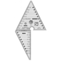 Creative Grids Multi-Size 2 Peaks in 1 Triangle ruler