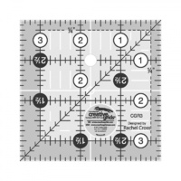 "Creative Grids Quilt Ruler 3.5"" Square"
