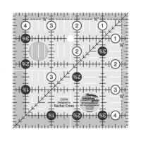 "Creative Grids Quilt Ruler 4.5"" Square"