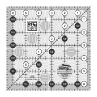 "Creative Grids Quilt Ruler 6.5"" Square"