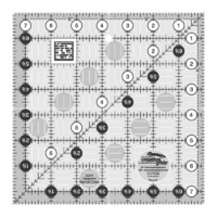 "Creative Grids Quilt Ruler 7.5"" Square"