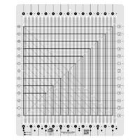 Creative Grids Stripology Squared Ruler / Template CGRGE2