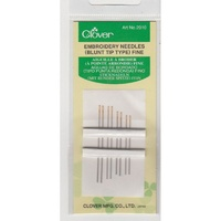 Clover Embroidery Needle Blunt