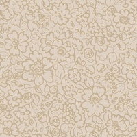 Tone on Tone - Liberty Floral Tan on Leadye