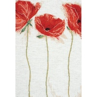 """Flamenco Poppies"" Counted Cross Stitch Kit"