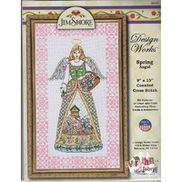 Spring Angel Counted Cross Stitch Kit