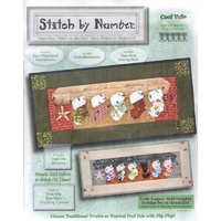 Cool Yule Stitch by Number Wall Hanging