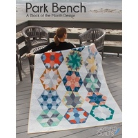 Park Bench - Block of the Month Quilt Design from Jaybird Quilts