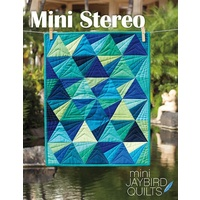 Jaybird Quilts Mini Stereo Quilt Pattern