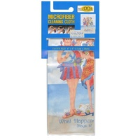 Jody Houghton What Happens At the Beach Microfiber Cleaning Cloth