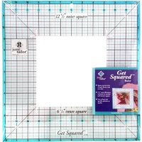 "Get Squared Ruler - 12.5"" outer square"
