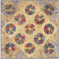 Lollipops Quilt Pattern with Template
