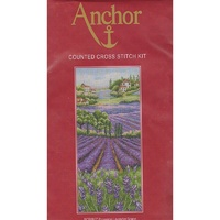 Anchor Provence Lavendar Scape Counted Cross Stitch Kit