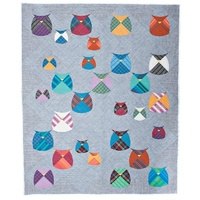 Mod Owls - A Quilt pattern from Sew Kind of Wonderful