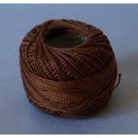 Rose Brown Pearl Cotton #8 10gm/95yd