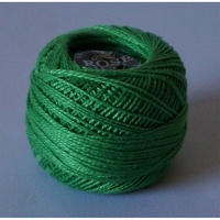 Rose Green Pearl Cotton #8 10gm/95yds