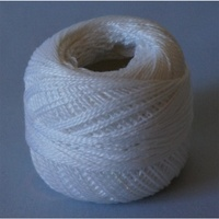 Rose Off White Pearl Cotton #8 10gm/95yds