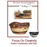 Focus on Creativity Fabric Container Pattern