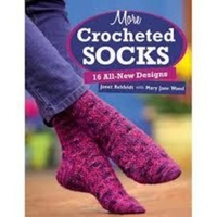 More Crocheted Socks Book