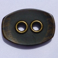 Bone & Brass Button