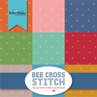 Bee Cross Stitch 10in Squares, 42pcs Lori Holt