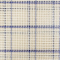 Zweigert Latch Hook Rug Canvas - Blue Checked 3.75 GRID 1 metre x 75 cm wide