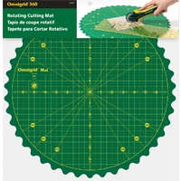 Omnigrid 360 Degree Rotating Cutting Mat 14 inch