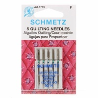 Schmetz Sewing Machine Needles - Quilting 14/90   5 Pack
