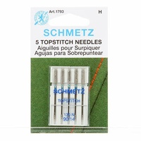 Schmetz Sewing Machine Needles - Topstitch 14/90 Sewing Machine Needle  5 Pack