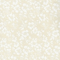Cream Medium Size Floral Tone on Tone