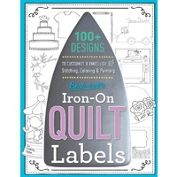 Best Ever Iron On Quilt Labels Book
