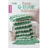 Leisure Arts-Easy Q-Hook Afghans Pattern Book