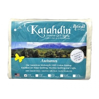 Katahdin Premium 100% Cotton Batting - Autumn 4oz - 45in x 60in (Crib Size)