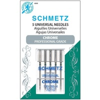 Schmetz Sewing Machine Needles - Chrome Universal 70/10 Needle 5 ct