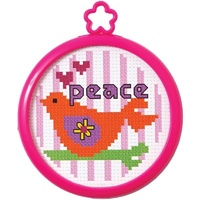 My 1st Stitch Peaceful Dove Mini Counted Cross Stitch Kit