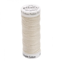 Sulky Thread 12wt Cotton Petites - Ecru 2ply