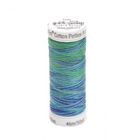 Sulky Thread Cotton Blendables 12wt - 2ply- Peacock Plume