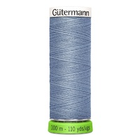Polyester Thread Recycled -110yd - Gutermann [Colour:  Tile Blue]