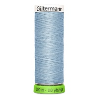 Polyester Thread Recycled -110yd - Gutermann [Colour: Blue Dawn]