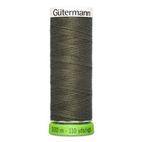 Polyester Thread Recycled MED ROAST COFFEE -110yd - Gutermann