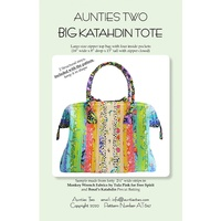BIG Katahdin Tote Bag Pattern - from Aunties Two