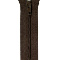 "Zipper - 14"" YKK  - Coffee Bean"