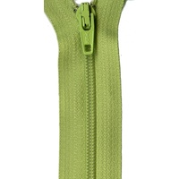 "Zipper - 14"" YKK - KEY LIME PIE"