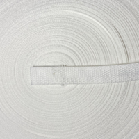 Belting / Webbing 20 mm wide - White